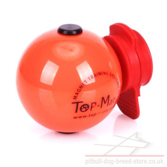 Magnetic Ball for Dog Training with MAXI Power-Clip Top-Matic - Click Image to Close