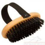 Best Dog Grooming Brush with Handle for Pitbull and Staffy