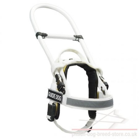 Guide Dog Harness with Handle-Frame, Ergonomic Design
