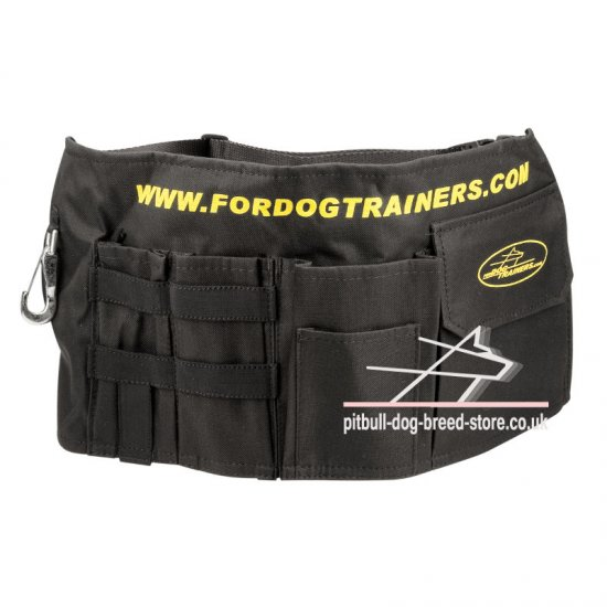 Hands Free Dog Training Belt Pouch for Stuff and Treats