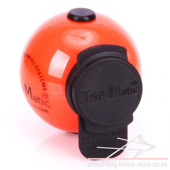 Magnetic Dog Training Ball Top-Matic with Multi Power-Clip