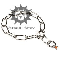 Pitbull Chain Collar | Stainless Steel Fur Saver, Herm Sprenger