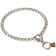 Choke Chain Collar for Staffy, Choker of Stainless