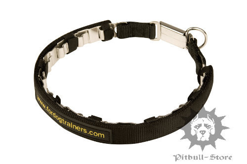 Neck Tech Collar Nylon Protector for Pitbull