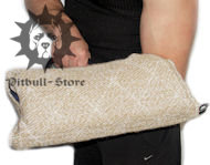 Pit Bull Puppy Sleeve Made of Safe and Strong Jute