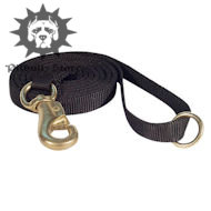 Pitbull Leash with Top Solid Brass Snap Hook