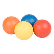 Crazy Color Rubber Ball, dog toy UK