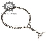 Pitbull Choke Chain Collar | Steel Chromium Plated