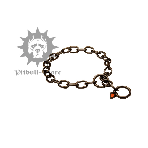 Choke Chain Dog Collar