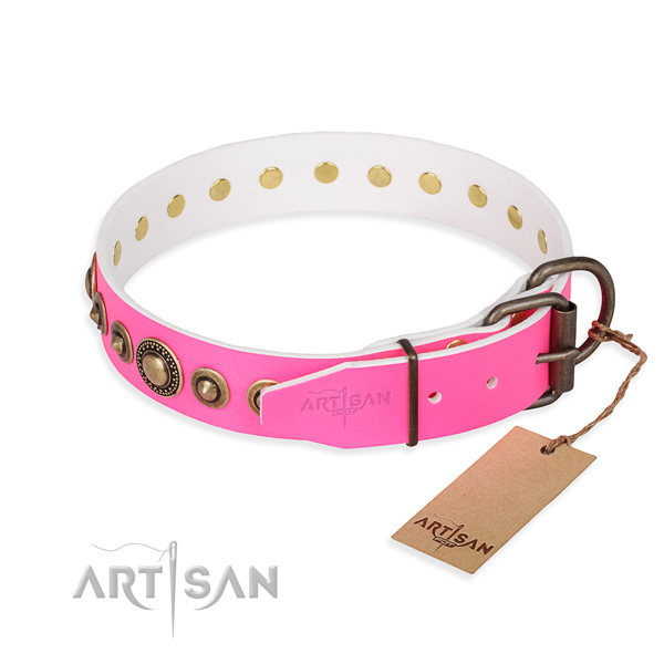 Handmade Collars for Dogs