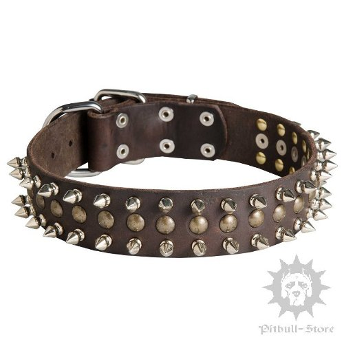 Leather Dog Collar UK