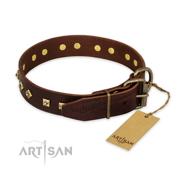 Leather Dog Collars for Pitbulls
