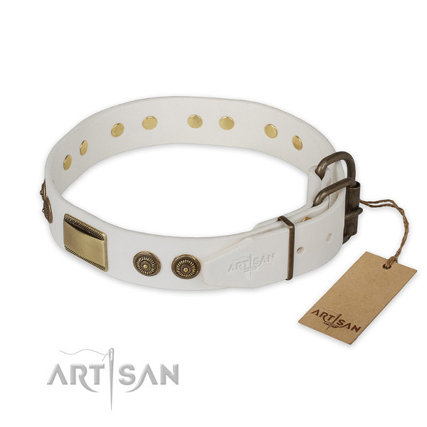 Pitbull Leather Dog Collars