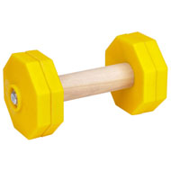 Dog Dumbbell for IGP Training, 1 Kg