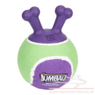 "Dog Fetch Ball Thrower ""Jumball"" for Staffy and Pitbull Puppy"