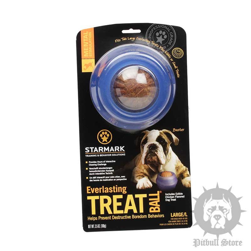 Interactive Dog Toy with Treats for Amstaff - £28.10