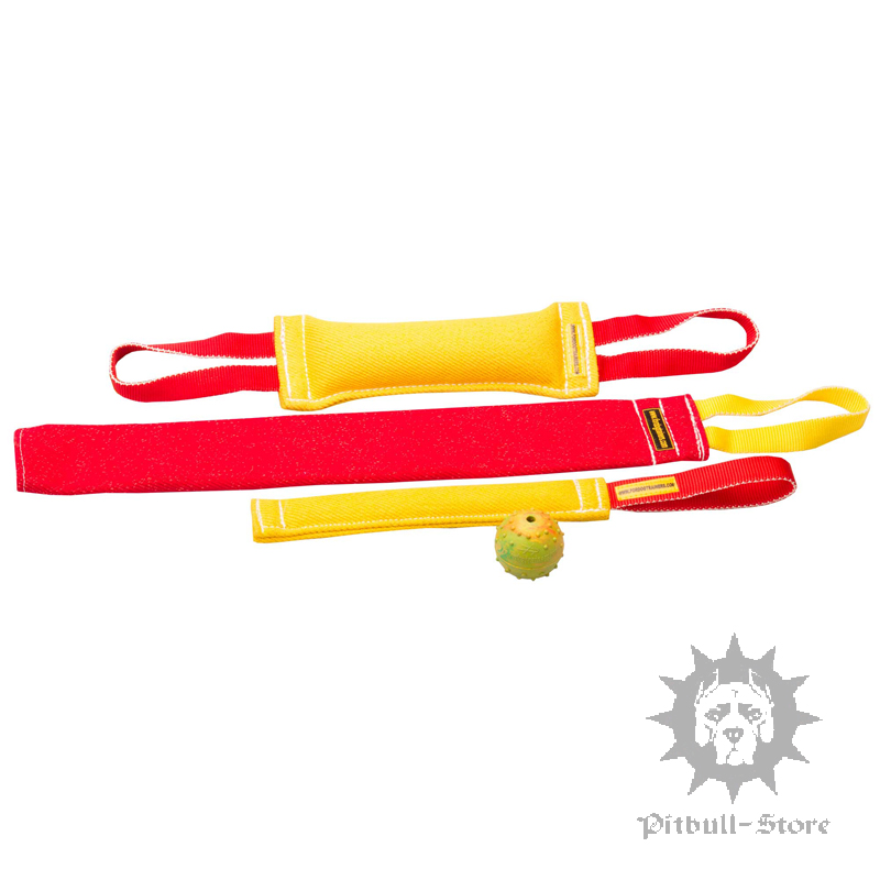 Dog Training Tug Toys: Dog Tug Toys Set - £35.90