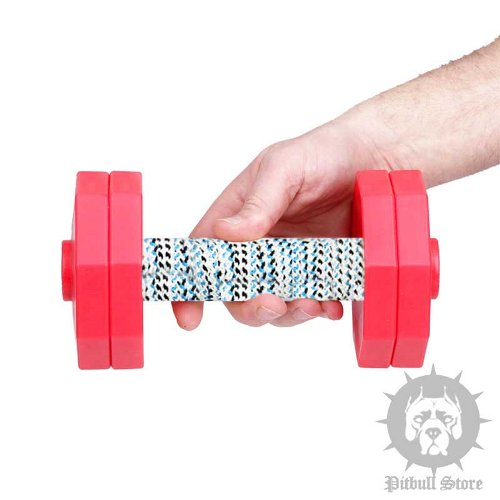 Dog Obedience Training Dumbbell