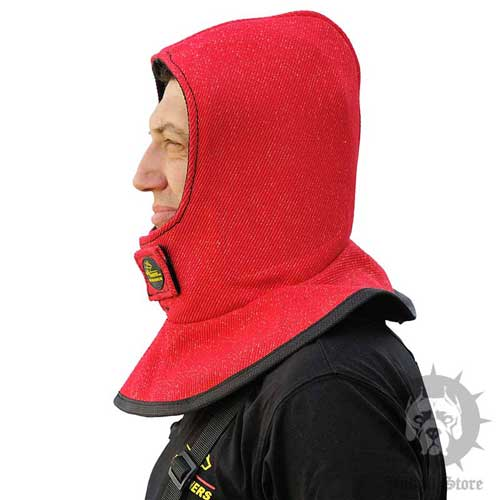 Head Protector for Dog Trainer