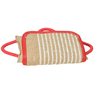 Dog Training Pad with Jute Cover, Pillow for Staffy Training