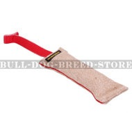 Jute Dog Bite Tug with T-Handle for Puppy and Young Staffy