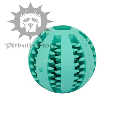 """Good Smell"" Dental Dog Ball with Mental Flavour, 1.9"""