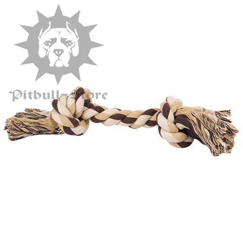 """Pull and Tug"" Fiber Bone for Pit Bull"