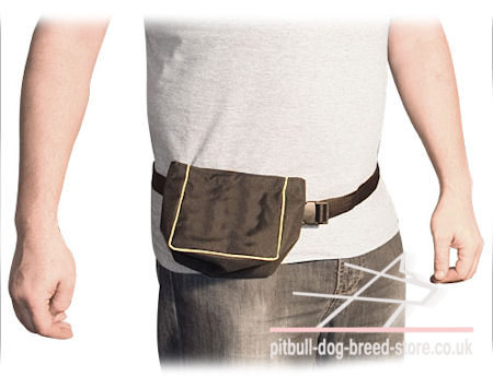 Dog Training Treat Pouch with Belt for Professionals