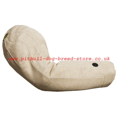 Jute Bite Sleeve for Staffy and Pitbull Training, Arm Protection