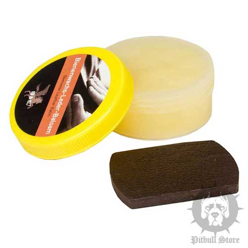 Leather Balsam for Your Staffy Training Equipment Maintenance
