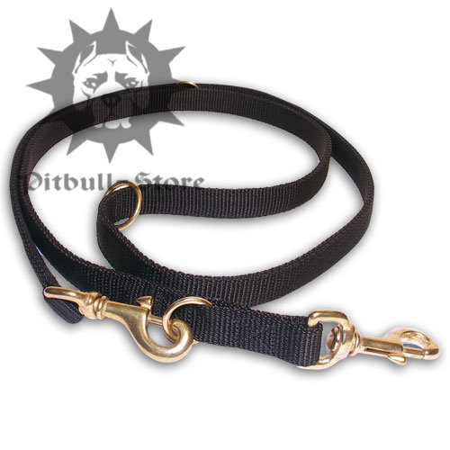 Multifunctional Pitbull Nylon Dog Lead 7-in-1