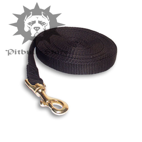 Extra Long Nylon Pit Bull Lead for Training and Tracking