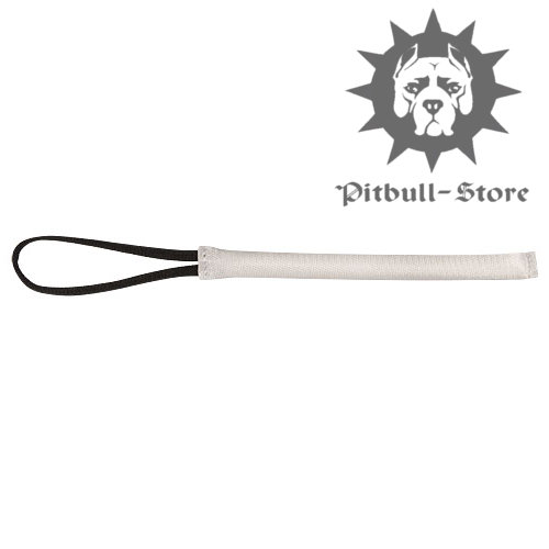 Pocket Fire Hose Bite Tug with Handle for Pitbull and Staffy