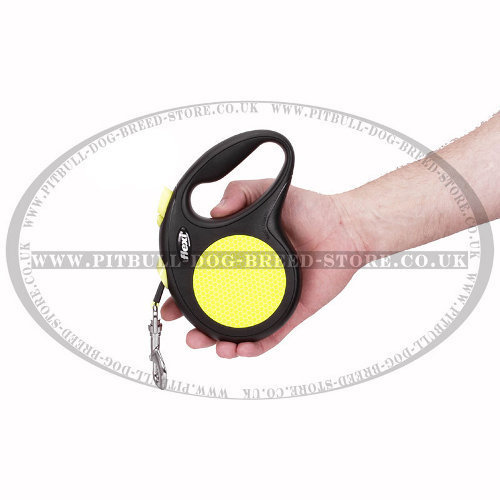 Retractable Dog Leash Flexi for Pitbull and Staffy, Large Size