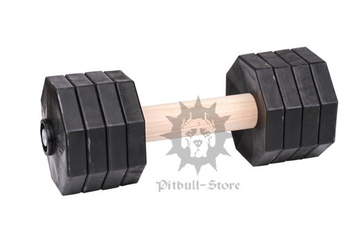 Schutzhund Dumbbell for Advanced Dog Training, 2 Kg