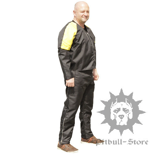 Dog Training Scratch Suit of Nylon with Removable Sleeves