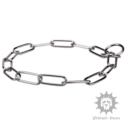 Rust-proof Slip Dog Collar of Stainless Steel