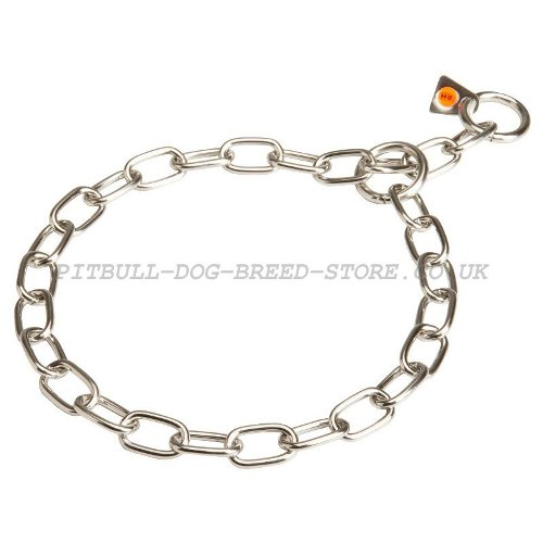 Stainless Steel Fur Saver Collar for Staffordshire Bull Terrier - Click Image to Close