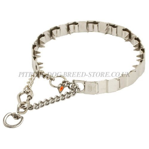 Neck Tech Prong Collar UK for Pitbull & Staffy, Herm Sprenger