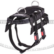 Military Police Dog Harness for Staffy and Pitbull