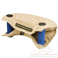 Strong Jute Bite Builder with Handles for Effective Dog Training