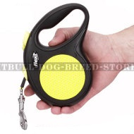 Retractable Dog Leash Flexi for Staffy Puppy, Small Size