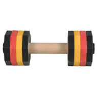 Schutzhund Dumbbell 2 kg, 8 Colorful Weight Plates for Staffy