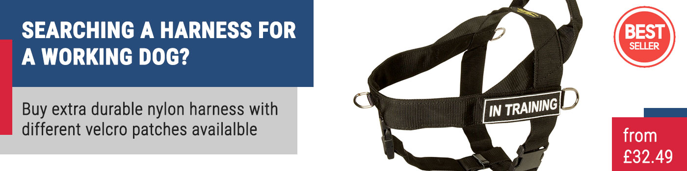 ID Dog Training Harness for Staffordshire