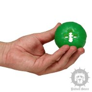 Snack Dog Ball for Staffy Bull Terrier Fun, Food Dispensing Item