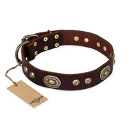 "Staffordshire Leather Collar ""Breath of Elegance"" FDT Artisan"
